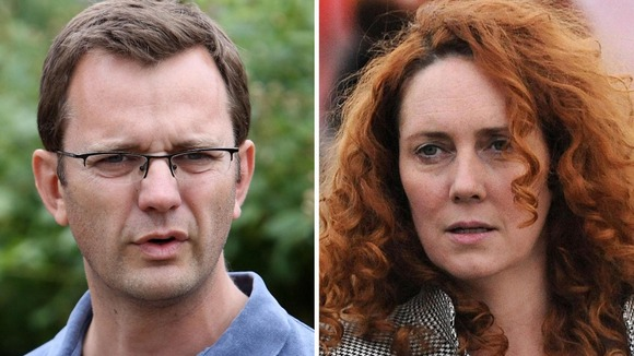 Andy Coulson &amp; Rebekah Brooks