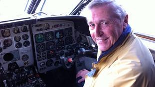 Nimrod pilot Philip Zarraga