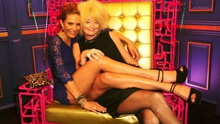Lauren Harries (right) and Sophie Anderton