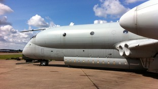 Nimrod on display at Bruntingthorpe Airfield