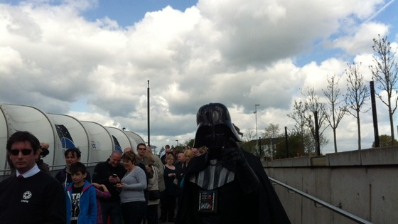 Darth Vader at National Space Centre in Leicester