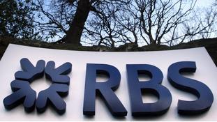 The Royal Bank of Scotland logo.