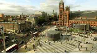 The redeveloped King's Cross Station