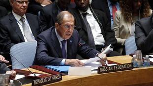 Russian Foreign Minister Sergei Lavrov said he wants his country to participate in the Syrian chemical weapons clean-up.
