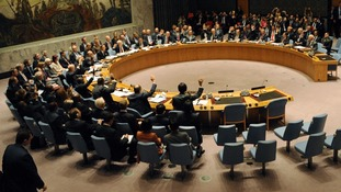 Members of the United Nations Security Council in New York vote unanimously to destroy Syria's chemical weapons.