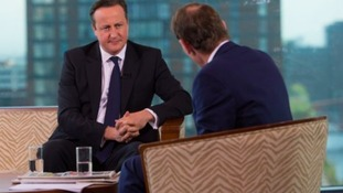 David Cameron appeared on BBC's Andrew Marr show earlier today