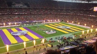 Tonight's Steelers vs Vikings match is the first of two NFL International Series matches to be played in London this year.