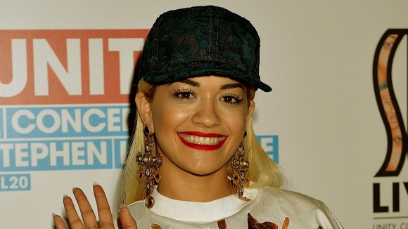 Rita Ora before Unity: A concert for Stephen Lawrence at the O2 Arena