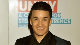 X Factor finalist Jahmene Douglas
