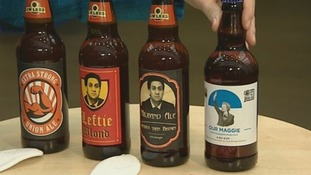 The Conservative Party conference has created a series of bottled beers for its delegates.