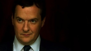 George Osborne leaves his hotel at the start of the second day of the Conservative Party conference.