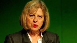 Home Secretary Theresa May is due to address the Conservative Party conference later today.