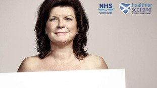 Actress and comedienne Elaine C Smith featured in the hard-hitting advert.