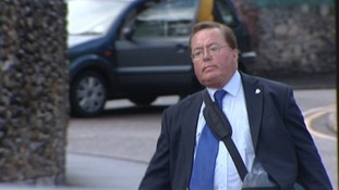 Former BBC presenter Michael Souter has appeared at Norwich Crown Court again today