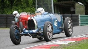 Stephen Jewell, pictured here competing at a previous event, died at Snetterton circuit yesterday