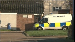 Police attend the incident in Selvale Way in Felixstowe two years ago