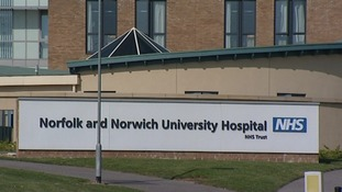 A male nurse at the Norfolk and Norwich Hospital has been struck off for possessing indecent images of young female patients