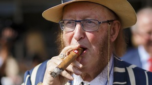 The racing pundit John McCririck