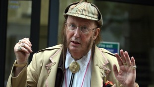 John McCririck insists he played 'pantomime villain' at tribunal