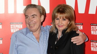 Andrew Lloyd Webber with Mandy Rice Davies
