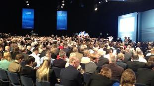 Conservative delegates