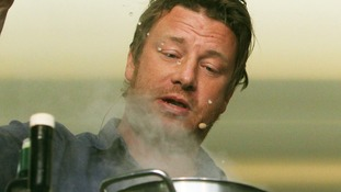 TV chef Jamie Oliver.