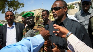 Mogadishu's Mayor Mohamed Nur