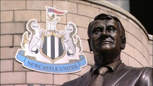 Statue of Sir Bobby Robson