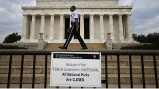 Monuments and national landmarks have been closed across America.