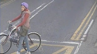 The British Transport Police have released the images in an attempt to identify the woman