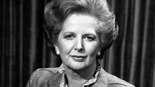 Prime Minister Margaret Thatcher in April 1982.