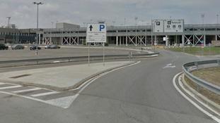 Girona airport.