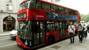 Routemaster bus in London