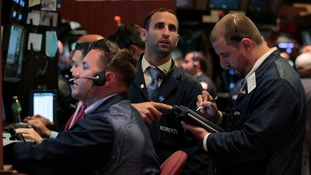 Traders working at the New York Stock Exchange the last time the US came close to a default in August 2011