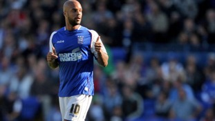 Ipswich Town's David McGoldrick has enjoyed a superb September