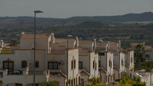 Suburba houses in spain