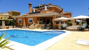 Big villa with pool in Spain