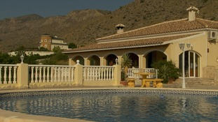Large villa with pool in spain