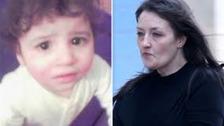 Hamzah Khan & his mother Amanda Hutton