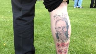 Patch tattoo