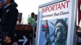 The Statue of Liberty was closed in the shutdown.