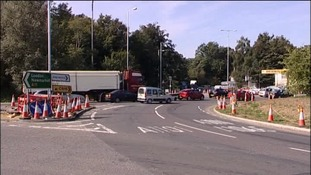 Drivers are being warned to expect disruption to the Fiveways roundabout.