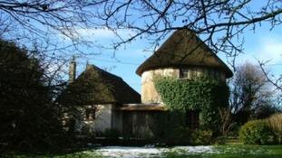 Old farmhouse in France
