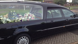 hearse anne bury