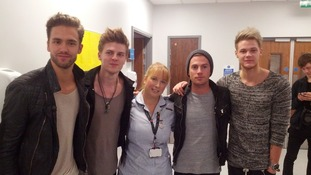 Lawson made staff nurse Carly's day