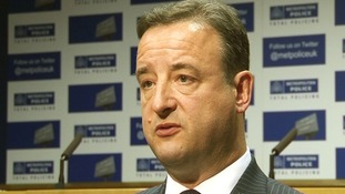 Metropolitan Police's Detective Chief Inspector Andy Redwood who is leading the investigation