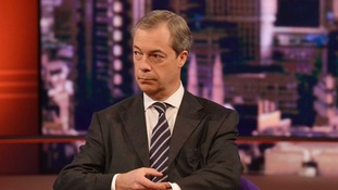 UKIP leader Nigel Farage told Andrew Marr that Tory MP Adam Afriyie has 'put his finger on the real problem'