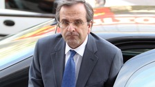Greek conservative leader Antonis Samaras