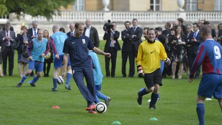 Prince William training