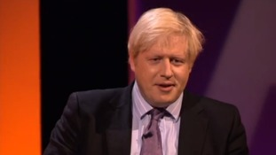 Mayor of London Boris Johnson on the Agenda.